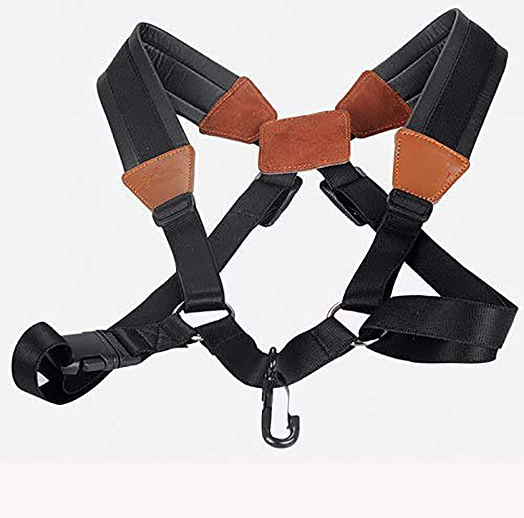 365invent Mail order Sax Saxophone Shoulder Ha Strap Padded cheap Double