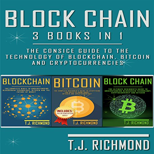 Blockchain: 3 Books in 1 audiobook cover art
