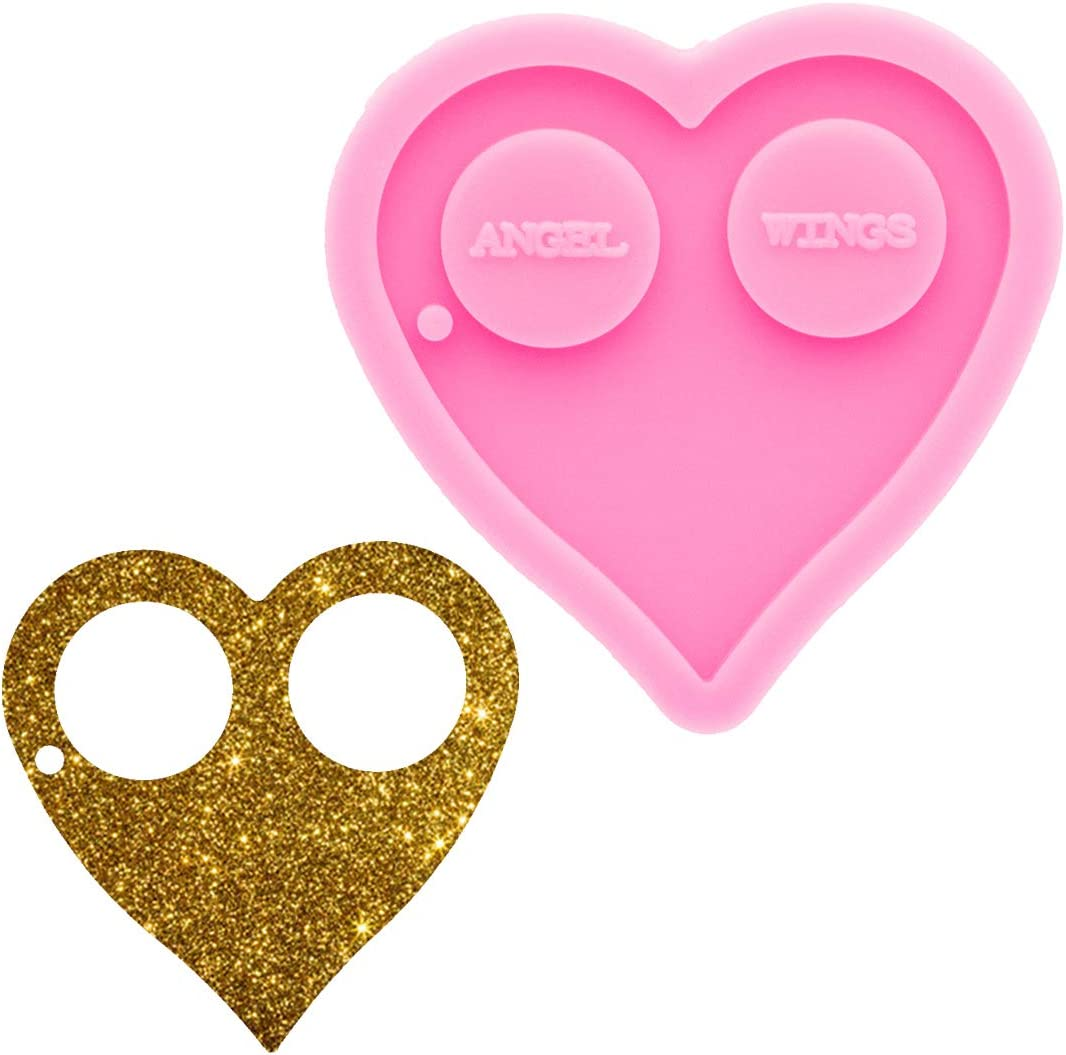 Cute Heart Shape Silicone Mold Ranking TOP12 Cake DIY Decoration Chocolate for Raleigh Mall