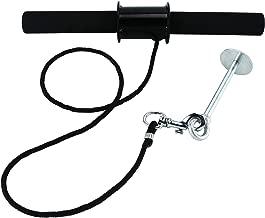 YAETEK Wrist and Forearm Blaster – Wrist Roller & Forearm Roller for Training, Workout – Wrist/Arm Blaster – Fit Standard 1-inch Weight Plates