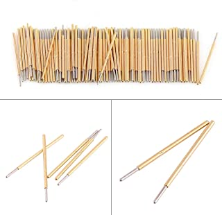 100pcs Spring Test Probe Pin,P50-J1 Round Head (Dia 0.48mm)Testing Needle for PCB Testing