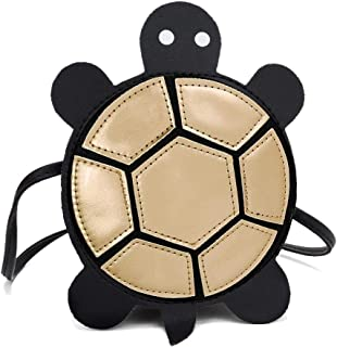 chinatera Turtle Shaped Funny Crossbody Bag Girl's PU Leather Clutch Purse Shoulder Bag