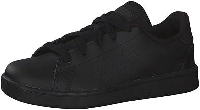 adidas unisex-child ADVANTAGE K TECHNICAL_SPORT_SHOE, Color: Black, Size: 30.5 EU