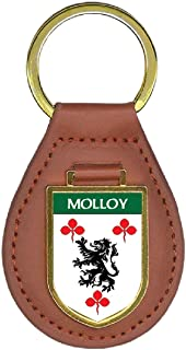 Molloy Family Crest Coat of Arms Key Chains