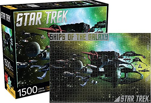 Aquarius Star Trek- Schiffe der Galaxy 1500 PC Puzzle