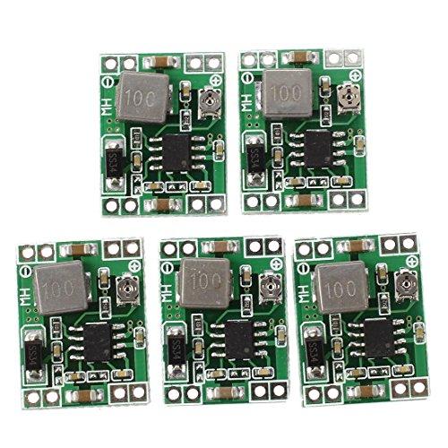 『SODIAL(R) 5件ミニDC-DCコンバータステップダウンモジュール調整可能電源出力0.8-20V』の1枚目の画像