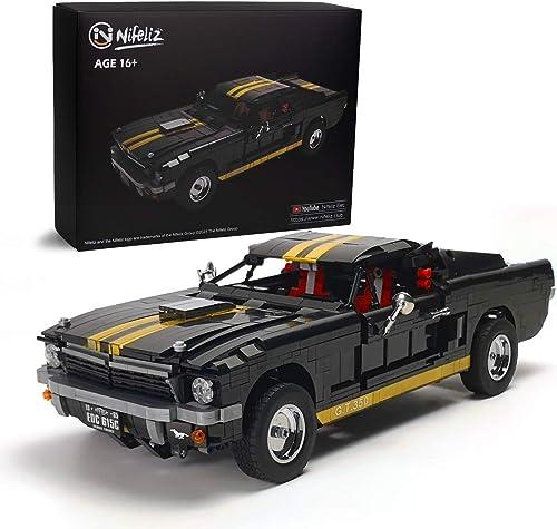 discount Nifeliz Muscle Car 1965s high quality GT350 Race Car 2021 Building Set (1,817 Pieces) outlet online sale