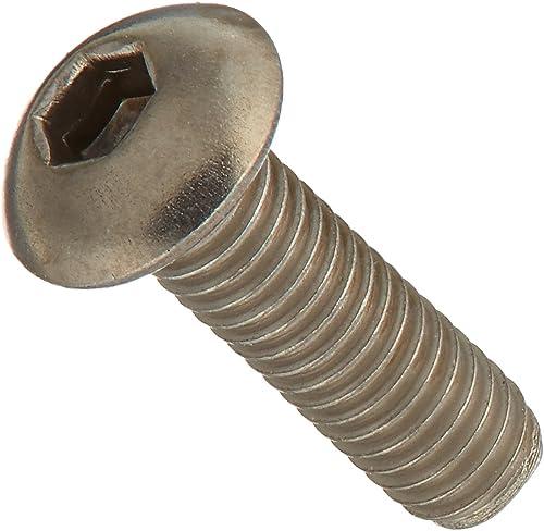 Titanium Button Hex Screw M3x10 (5)