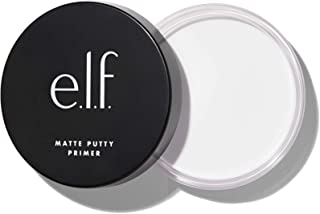 e.l.f. Matte Putty Primer, Skin Perfecting, Lightweight, Oil-free formula, Mattifies, Absorbs Excess Oil, Fills in Pores a...