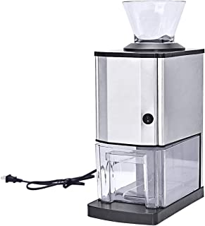 Costzon Electric Ice Crusher, Stainless Steel Ice Shaved Machine for Party, Gathering, Home