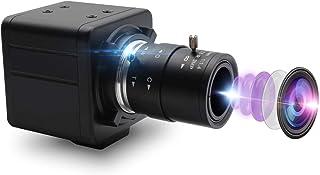 ELP 8MP USBカメラ 2.8-12mm 可変焦点レンズ 手動ズーム 2448P UVC Webカメラ プラグ&プレイ 800万画素 Sony IMX179 sensor ウェブカメラ USB8MP02G-MFV(2.8-12)