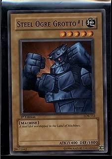 Steel Ogre Grotto #1 1st Edition LOB-112 Yugioh Legend of Blue Eyes NM-MT