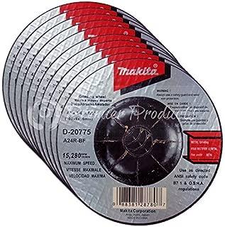 Makita 10 Pack - 4 Inch Grinding Wheel For 4