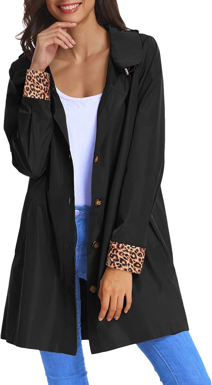 Womens Nashville-Davidson Mall Lightweight Hooded Waterproof Active Long Beach Mall Jacket Outdoor Rain