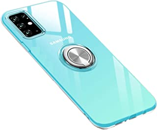 Lenuo For Samsung galaxy S20 Plus Case, Ring Holder Magnetic, Transparent