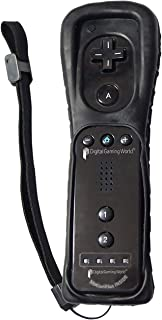 Digital Gaming World® Wii Motion Plus Remote (Black Color) for Wii Console. Good Quality.