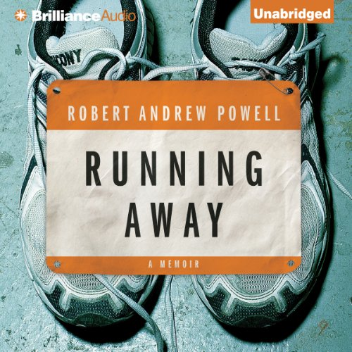 Running Away audiobook cover art