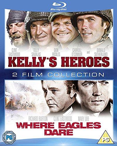 Kelly's Heroes / Where Eagles Dare [Edizione: Regno Unito] [Italia] [Blu-ray]