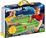 playmobil futbolin maletin