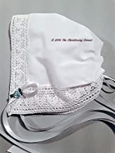 Chapel Lace Magic Hanky Baby Bonnet & Poem