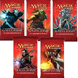 Magic the Gathering Cards - Gatecrash - Booster Packs (5 Pack Lot)
