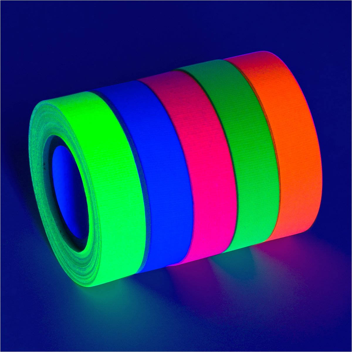 5 Pack BRIGHT Blacklight Reactive Fluorescent