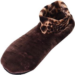 LOVART'S BEAUTY ルームソックス あったか靴下 もこもこ レディース ルームシューズ 冷え取り 滑り止め付 防寒 22-24.5cm