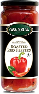 Casa Di Oliva Red Peppers Roasted, 17 Ounce