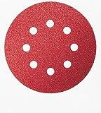 Bosch DIY Schleifblatt verschiedene Materialien für Exzenterschleifer (25 Stück, Ø 125 mm, Körnung 60)