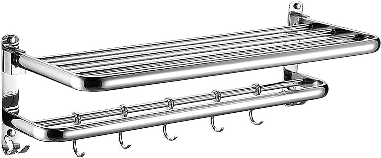 TCTCXQG New products world's Super-cheap highest quality popular Towel Rack Stainless Steel Rail Bathroom Wall Moun