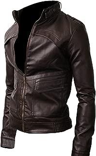 KAAZEE Strap Pocket Dark Brown Vintage Slimfit Jacket