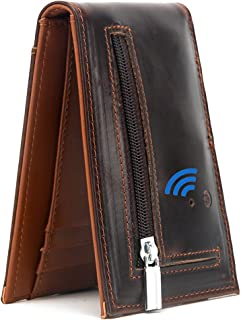 $26 » Sponsored Ad - Smart Bluetooth GPS Location Record Mens Wallet Finder Money Clip Wallets Tracker (Coffee)