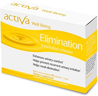 Activa Well Being Elimination - Pack of Capsules 30