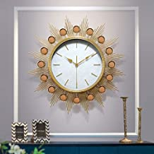 Wall Clock - Metal/Glass/Personality/Home/Clock, Retro Fashion Wall Clock Living Room Bedroom Creative Mute Clock Wall Clo...
