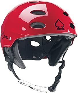 PRO-TEC Ace Wake Helmet in RED Gloss CH109