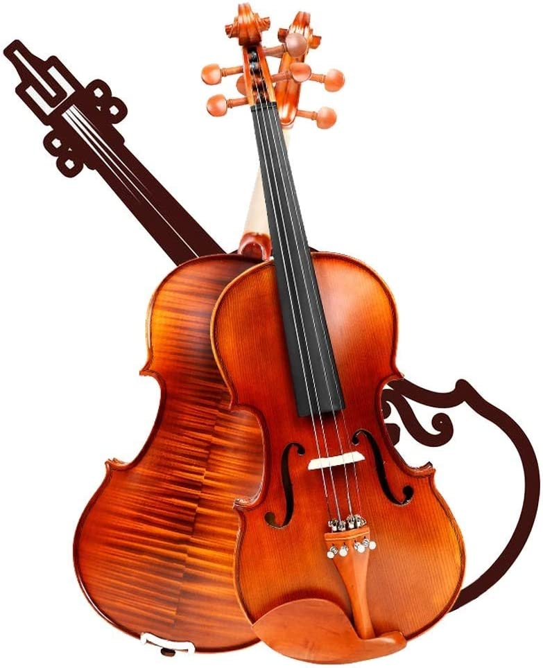 WYKDL Violin 4 Acoustic Starter Kit San Antonio Mall Wood Max 51% OFF Solid Handmade