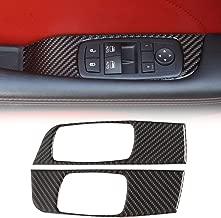 Rvinyl Rdash Dash Kit Decal Trim for Dodge Challenger 2008-2014 Carbon Fiber 3D Black