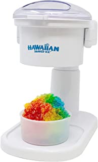 Hawaiian Shaved Ice S700 Snow Cone Machine, White