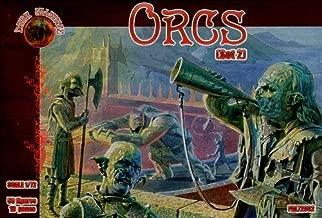 Dark Alliance 1/72 Orcs set 2 50 figures/10 poses # 72002 by Dark Alliance