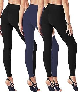 High Waisted Workout Leggings for Women - Soft Tummy Control Yoga Pants Gymshark Fabletics Legging Reg & Plus Size