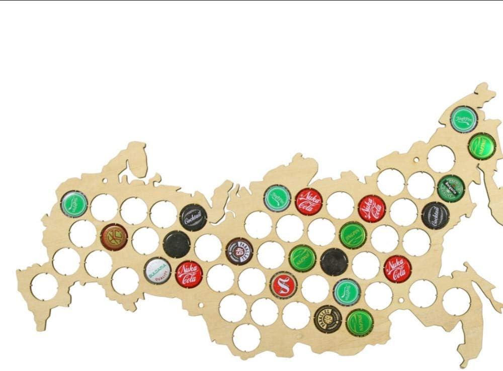 JHJUH Beer Cap Map Russian Federation Fees free!! Dedication C Wine Russia
