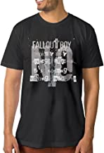 NUBIA Men's Centuries Psycho Funny T-shirt Black