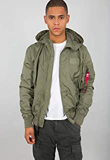ALPHA INDUSTRIES MA-1 LW Hooded Giacca Bomber