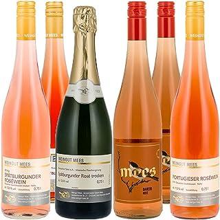 Weingut Mees ROSÈ WEIN UND SEKT B.A. NAHE Trocken & Feinherb Roséwein Deutschland 6 x 750 ml