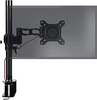 Duronic DMDCL1X1 Supporto Monitor da scrivania con Morsetto e Piattaforma per PC Portatile 100 Braccio Porta Monitor Regolazione omnidirezionale Compatibilit/à Universale con schermi TV VESA 100