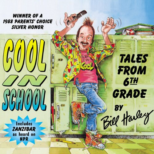 Cool in School audiobook cover art