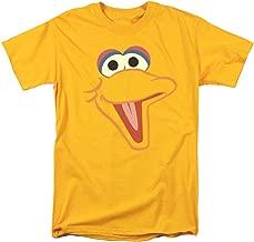 Sesame Street Big Bird Face T Shirt & Stickers