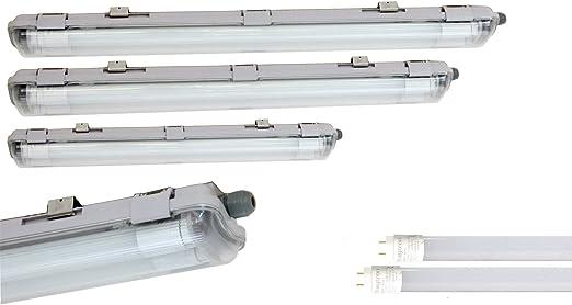 LED Feuchtraumleuchte Wannenleuchte Keller Werkstatt Röhre Wannenleuchte IP65