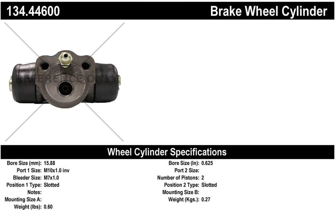 Limited time for Max 78% OFF free shipping Centric Parts 134.44600 Drum Wheel Cylinder Brake