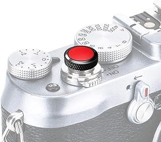 PROfezzion Deluxe e Robusta Pulsante Di Otturatore per Fujifilm X-E3 X-E2 X-E2s X-E1 X30 X20 X10 etc. (Nero con Rosso Supe...